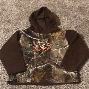Other - Boy's camouflage fleece hoodie sweatshirt